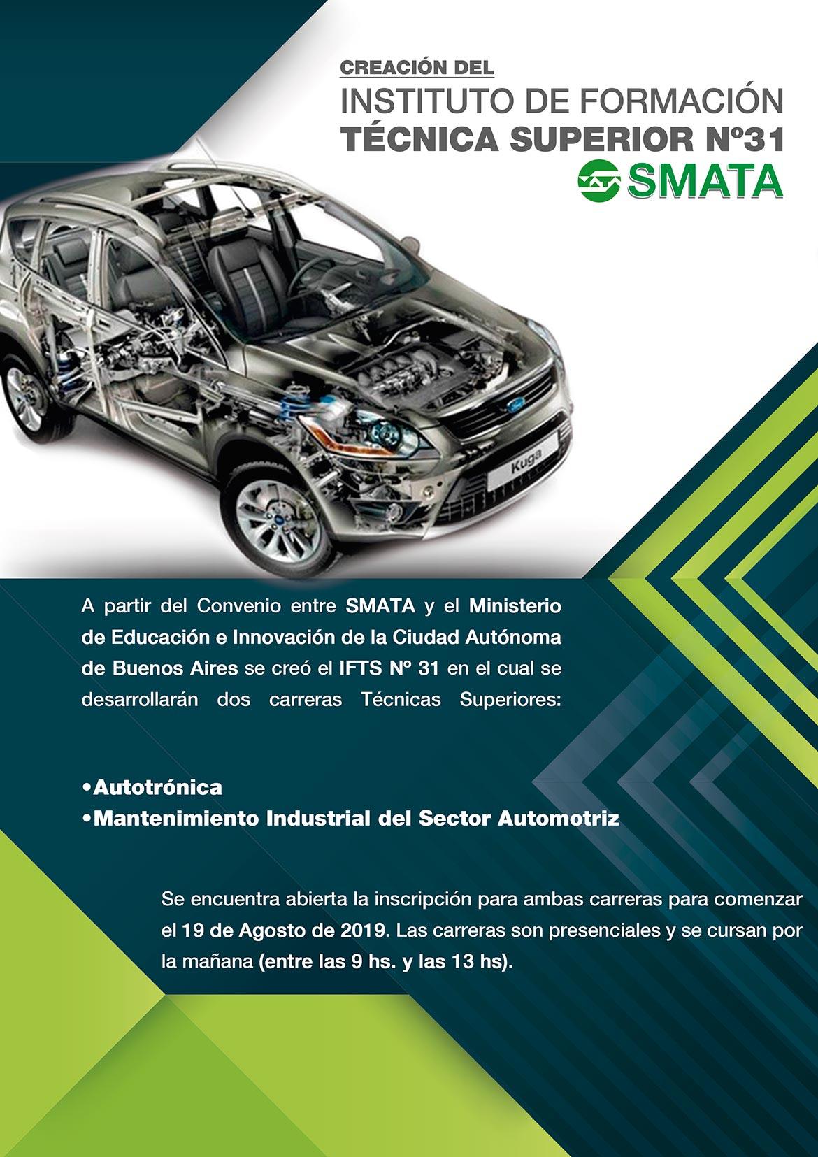 Instituto de Formación Técnica N° 31 SMATA